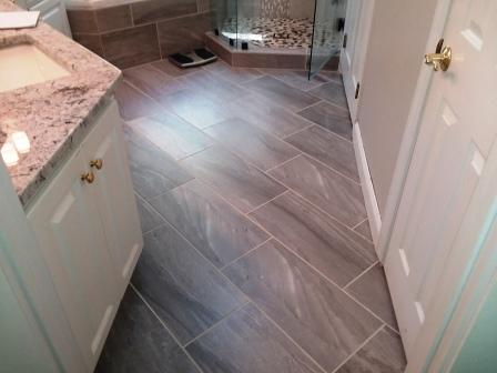 full bath floor